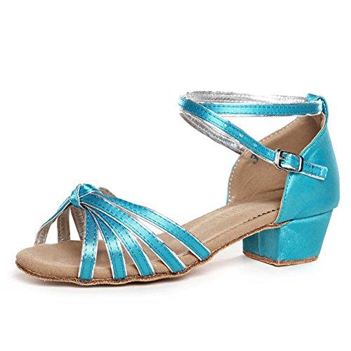 latino scarpe per bambini/ Lady shoes/Square dance scarpe per ragazze/ danza scarpa pratica S