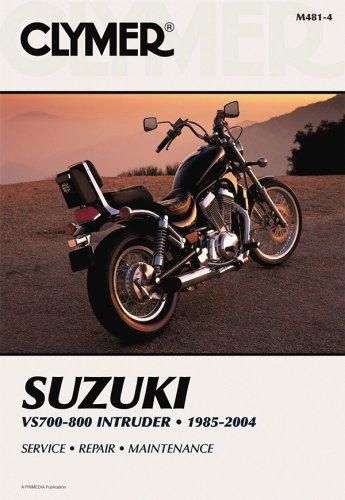 Suzuki VS700/800 Intruder 1985-04 (CLYMER MOTORCYCLE REPAIR) por Clymer Publications