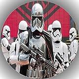 Fondant Tortenaufleger Tortenbild Geburtstag Star Wars T36