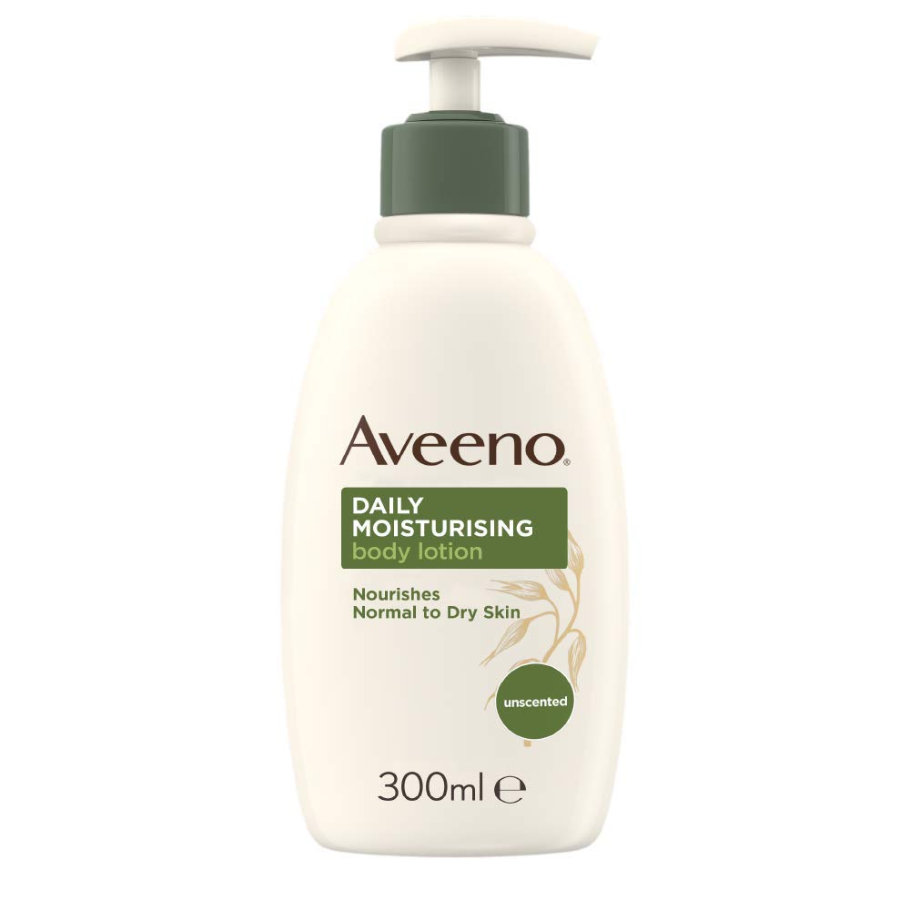 Aveeno Daily Moisturising Body Lotion – 24 Hours Moisturisation – Body Lotion for Normal to Dry Skin – 300 ml