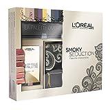 L'Oréal Paris Cofanetto Edizione Limitata Smoky Seduction Confezione Regalo con Pochette, Palette Ombrèe e Palette Labbra Color Riche