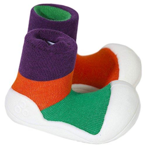 Attipas , {Chaussures premiers pas pour bébé (garçon) Multicolore Multicolore 21.5 Violet