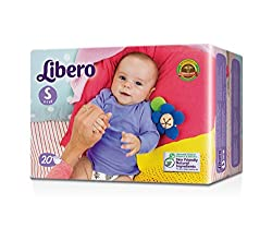 Libero Small Open Diaper (20 Counts)