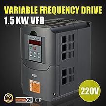 Autovictoria VFD Inversor 220V VFD Drive Variador de Frecuencia VFD Profesional Frequency Inverter Diver para Control