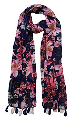 FusFus Women's Printed Trendy Stoles, Free Size(Multicolour, F092) - Pack of 6