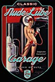 ComCard Pinup/Pin up Nude Lube Garage Auto Schild aus Blech, metallsign, Tin