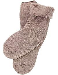 Dynamic Outwear Kinder Thermo Socken 32-35 beige