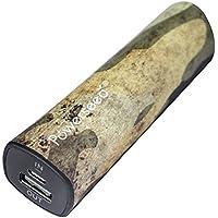 Powerseed® Rainbow, 2.400 mAh. Caricabatteria Portatile. Ricarica completa per un iPhone 5s, 80% per un iPhone 6, 70% per il Samsung Galaxy S6. Compatibile con tutti i dispositivi con porta di ricarica USB. Colore: Camouflage