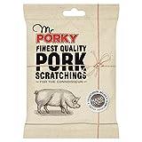 Sr. Porky calidad más fina cortezas de cerdo 45g (paquete de 12 x 45 g)