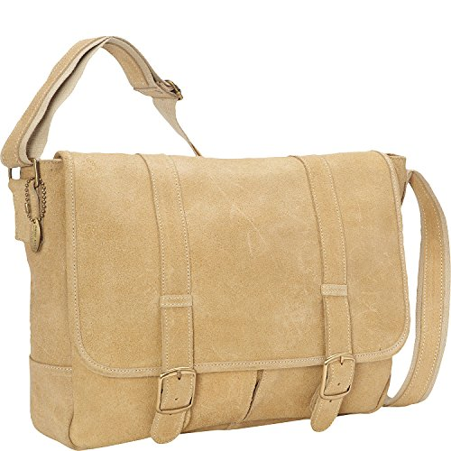 david-king-co-double-strap-messenger-tan-one-size