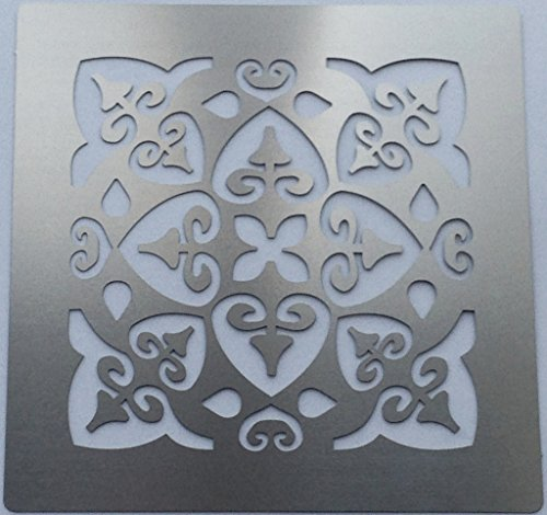 metal-monkey-shabby-chic-romantic-pattern-square-stainless-steel-stencil-7cm-x-7cm
