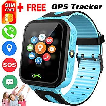 EE - BESTIE 3 GPS KIDS SMARTWATCH WATERPOOF PHONE: Amazon co