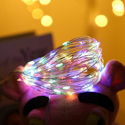 Tiowea USB wasserdichte Lichterkette Weihnachten Hinterhof Patio hängende Lichterketten Spezial- & Stimmungsbeleuchtung