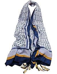 AIVTALK - Foulard Echarpe Doux léger imprimés Femme Fille – Foulard Wrap style pour printemps / autonome - Beaucoup de Couleur