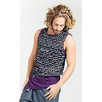 Yoga Superior para Hombres–Mantra–orgánico con Stretch-Cool y Cómodo (Negro, S/M)