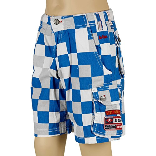 Lee Cooper Jungen Short Mehrfarbig mehrfarbig 7/8 Jahre (Boys-cargo-shorts Baby Khaki)