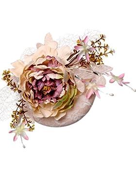 Zhuhaitf High Quality Hermosos accesorios para el cabello Flowers Linen Hairpin Headdress Wedding Photography...