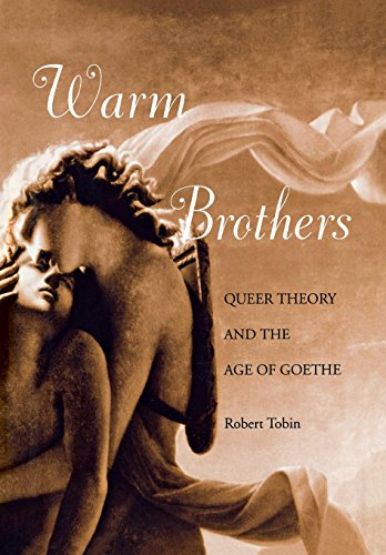 Warm Brothers: Queer Theory and the Age of Goethe (New Cultural Studies Series)