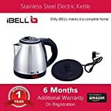 iBELL 1.2 Ltrs 1500W Stainless Steel Electric Kettle