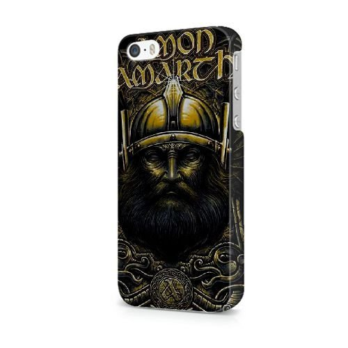iPhone 5/5S/SE coque, Bretfly Nelson® LOGO ADIDAS Série Plastique Snap-On coque Peau Cover pour iPhone 5/5S/SE KOOHOFD919493 AMON AMARTH - 018