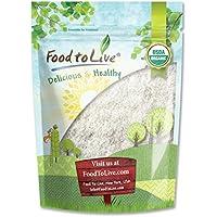 Food to Live Coco rallado orgánico (Cruda, grano integral, desecado, no OMG, Kosher) 906 gramos
