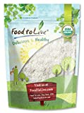 Food to Live cocco biologico (Raw. grano intero. secco. non - OGM) (12 once)