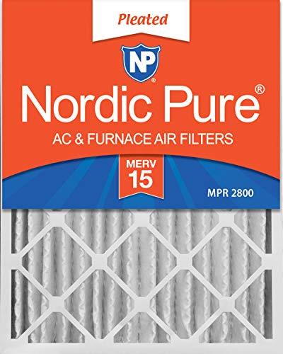 Nordic Pure 12x 24x 4Merv 15filtro aire acondicionado