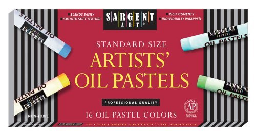 Sargent Art 22-2019 16-Count Oil Pastels by