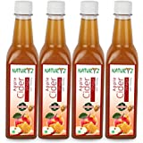 Naturyz Apple Cider Vinegar With Honey, With Mother Vinegar, Natural, Raw, Unfiltered, Undiluted- -500ml (Pack...