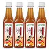 #7: Naturyz Apple Cider Vinegar with Honey, With Mother Vinegar, Natural, Raw, Unfiltered, Undiluted- -500ml (Pack of 4)