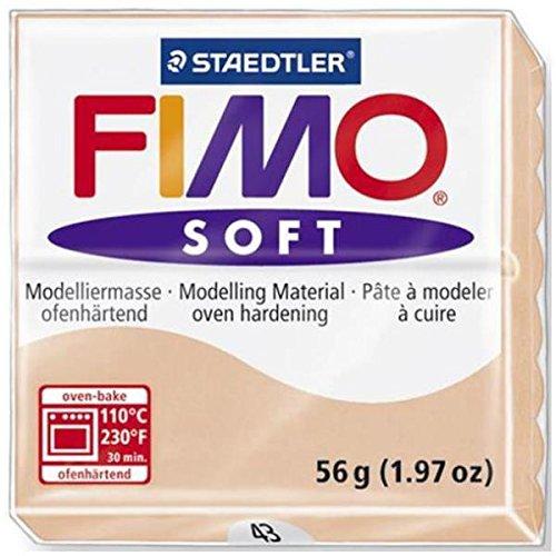 FIMO 1 PANETTO SOFT 56G. COLORE PELLE CHIARO