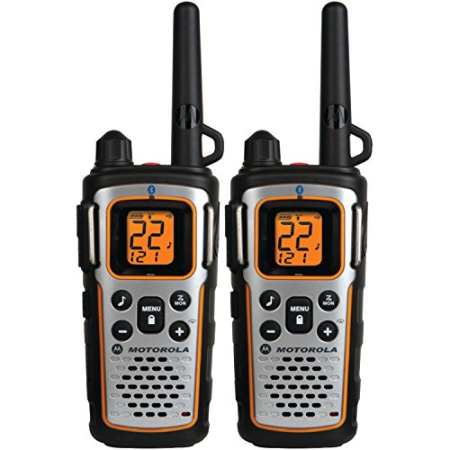 Motorola 22 Channel 35 Mile Two-Way Radios - Bluetooth Compatible Talkabout Radio