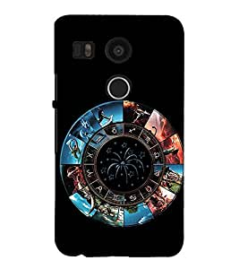 Fuson 3D Designer Back Case Cover For LG Nexus 5X