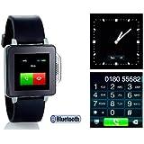 simvalley PW-315.touch Mobile Handy-Uhr (Handy/Uhr/Mediaplayer) schwarz