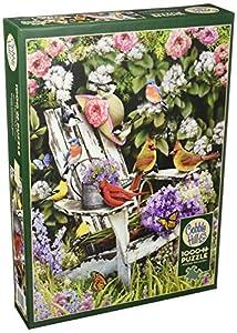 Cobblehill 80090 - Puzzle de 1000 pájaros de Verano