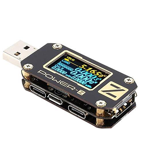 USB Tester, TypC QC2.0/3.0 / PD Digital Voltage Current Amp Meter Leistungsmessgerät, Stromtester