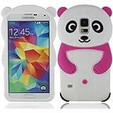 Weich silikon gummi panda hülle schale abdeckung case cover housing für Samsung Galaxy S5 SV S V I9600