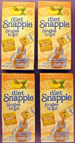 diet-snapple-singles-to-go-peach-tea-4-packets-per-box-4-pack-by-snapple
