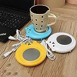 ELEGIANT USB Kaffeewärmer Tassenwärmer Teetassenwärmer Teewärmer Mini Warmhalteplatte Heizplatte Pad