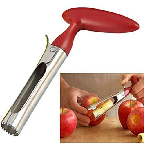 Yingwei Tragbare Edelstahl Einfach Twist-Kern-Remover-Frucht Apfelentkerner Pear-Küche-Werkzeug