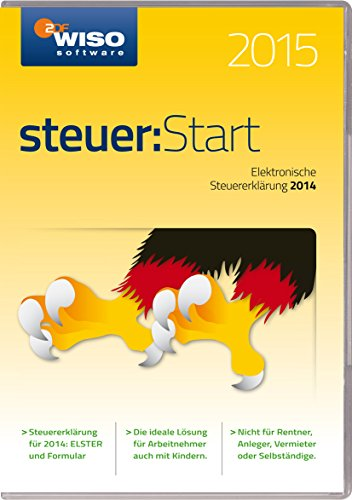 WISO steuer:Start 2015 (für Steuerjahr 2014 / Frustfreie Verpackung)