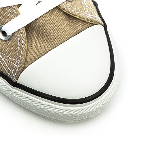 Converse Chuck Taylor All Star Seasonal Ox, Unisex adulto Sneakers Beige (Papyrus)