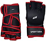 SportSoul MMA Gloves Cross-Cuff, Size - Large