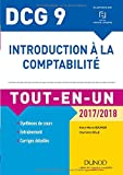 DCG 9 - Introduction à la comptabilité 2017/2018 - Tout-en-Un