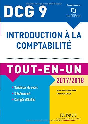 DCG 9 - Introduction  la comptabilit 2017/2018 - Tout-en-Un