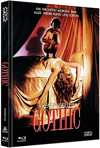 Gothic [Blu-Ray+DVD] - uncut - auf 444 Stück limitiertes Mediabook Cover A