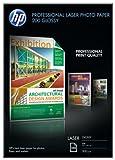 HP CG966A Professional Laser-Papier glänzend (beidseitig beschichtet) 200g/m2 A4 100 Blatt, weiß
