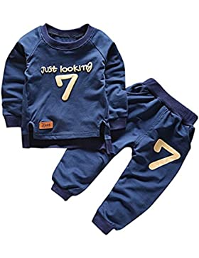 Moresave Bebé Conjunto de ropa de manga larga suéter Tops pantalón de chándal