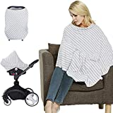 LifeTree Multifunktions Stillschal Stilltuch Nursing Cover Poncho,...