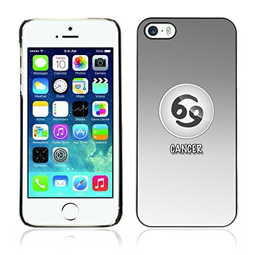 Graphic4You Virgo Jungfrau Horoskop Tierkreis Zeichen Design Harte Hülle Case Tasche Schutzhülle für Apple iPhone 5 und 5S Cancer